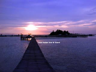 Pulau Tidung Ramai Saat Lebaran