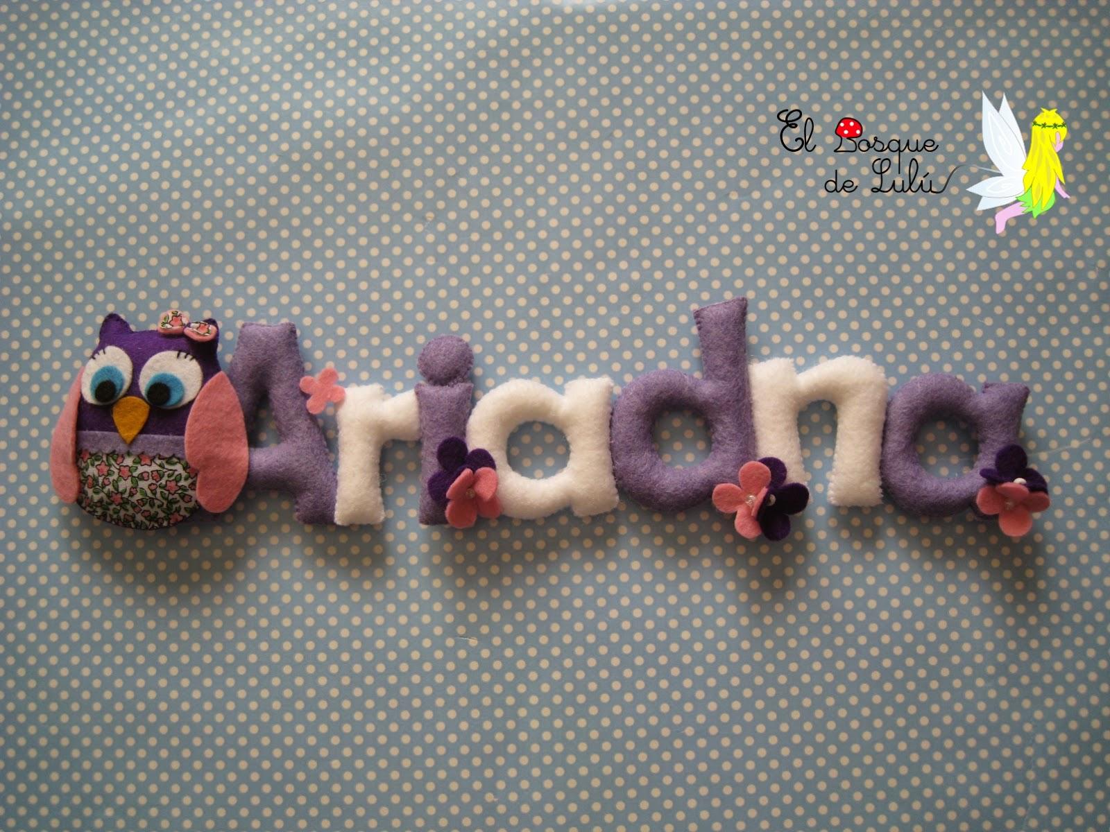 nombre-fieltro-decoración-infantil-detalle-nacimiento-Ariadna