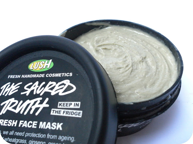A picture of Lush The Sacred Truth Fresh Face Mask