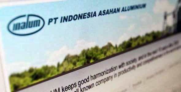 Lowongan Kerja PT Indonesia Asahan Aluminium (Persero)