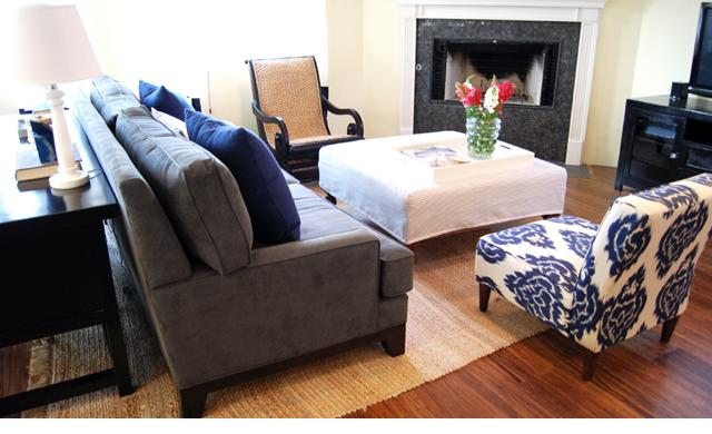 Tatiana doria sugerencia del d a - Mueble detras sofa ...