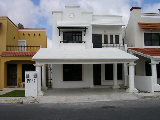 Fachadas mexicanas y estilo mexicano february 2012 for Fachadas de casas minimalistas con balcon