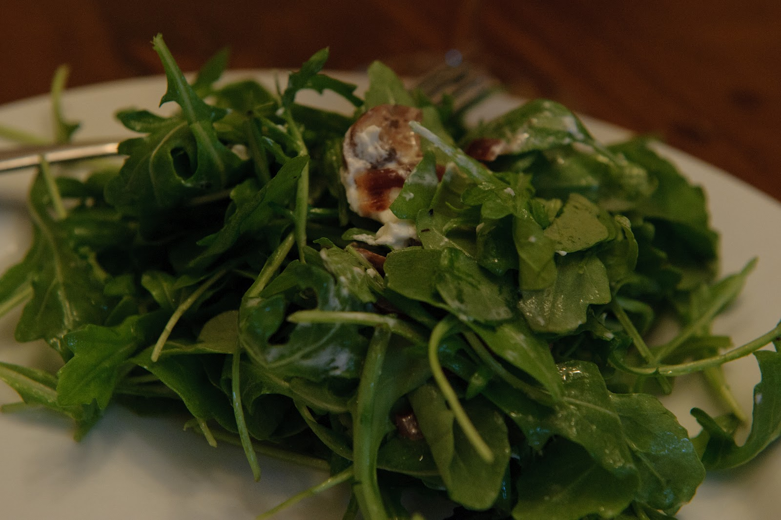 don't think it's possible to overstate how much I love a green salad ...
