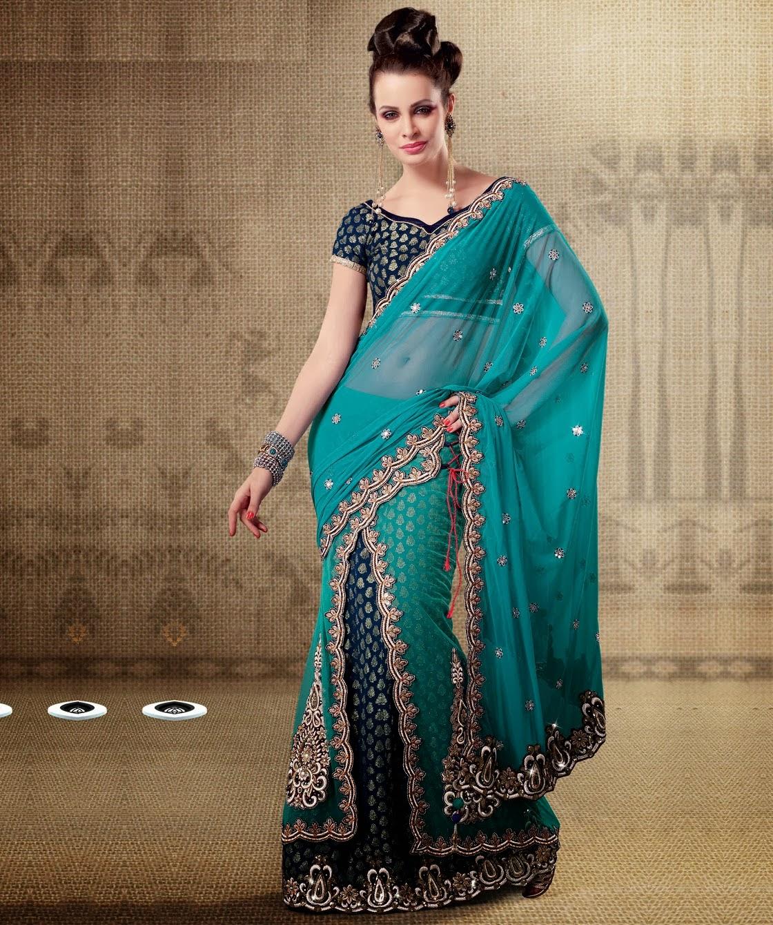 Indian Wedding Lehenga Saree | Indian Bridals Saree Lehenga ...