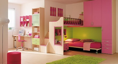 Pink Color Bedrooms Ideas