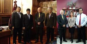 Coordinaciones en Arequipa - Simposio Internacional sobre Protección Radiológica en Medicina 2017
