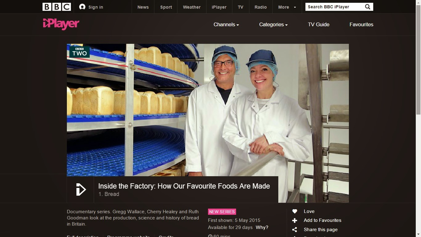 Inside the Factory: How our Favourite Foods are Made 1. Bread