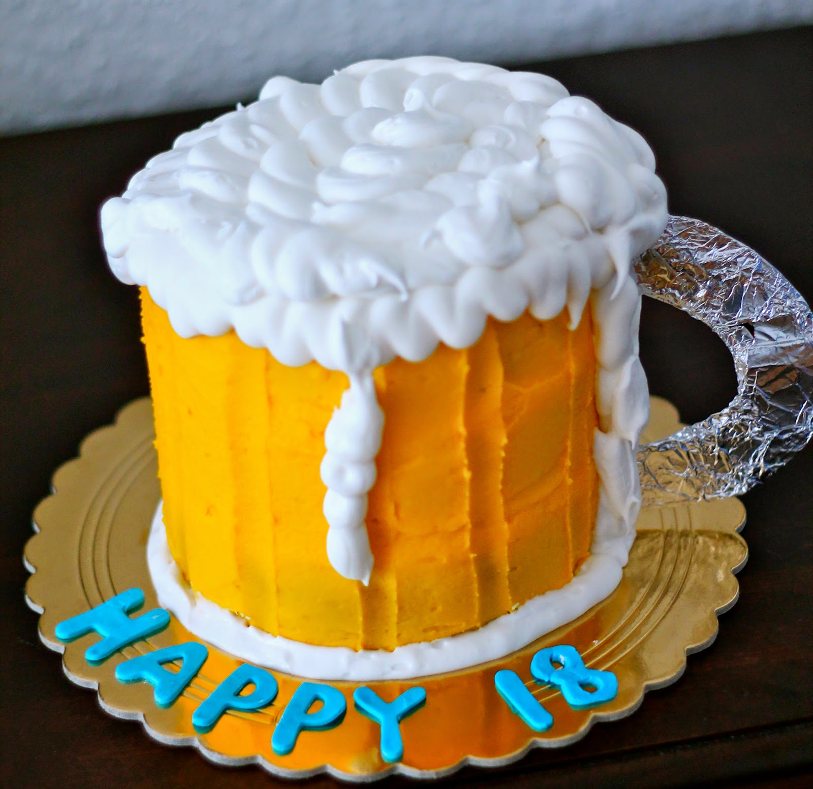Beer Mug Cake Pics
