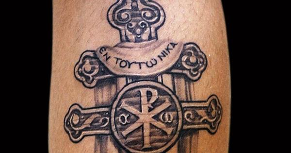 Moonstruck Tattoo Saint Constantine