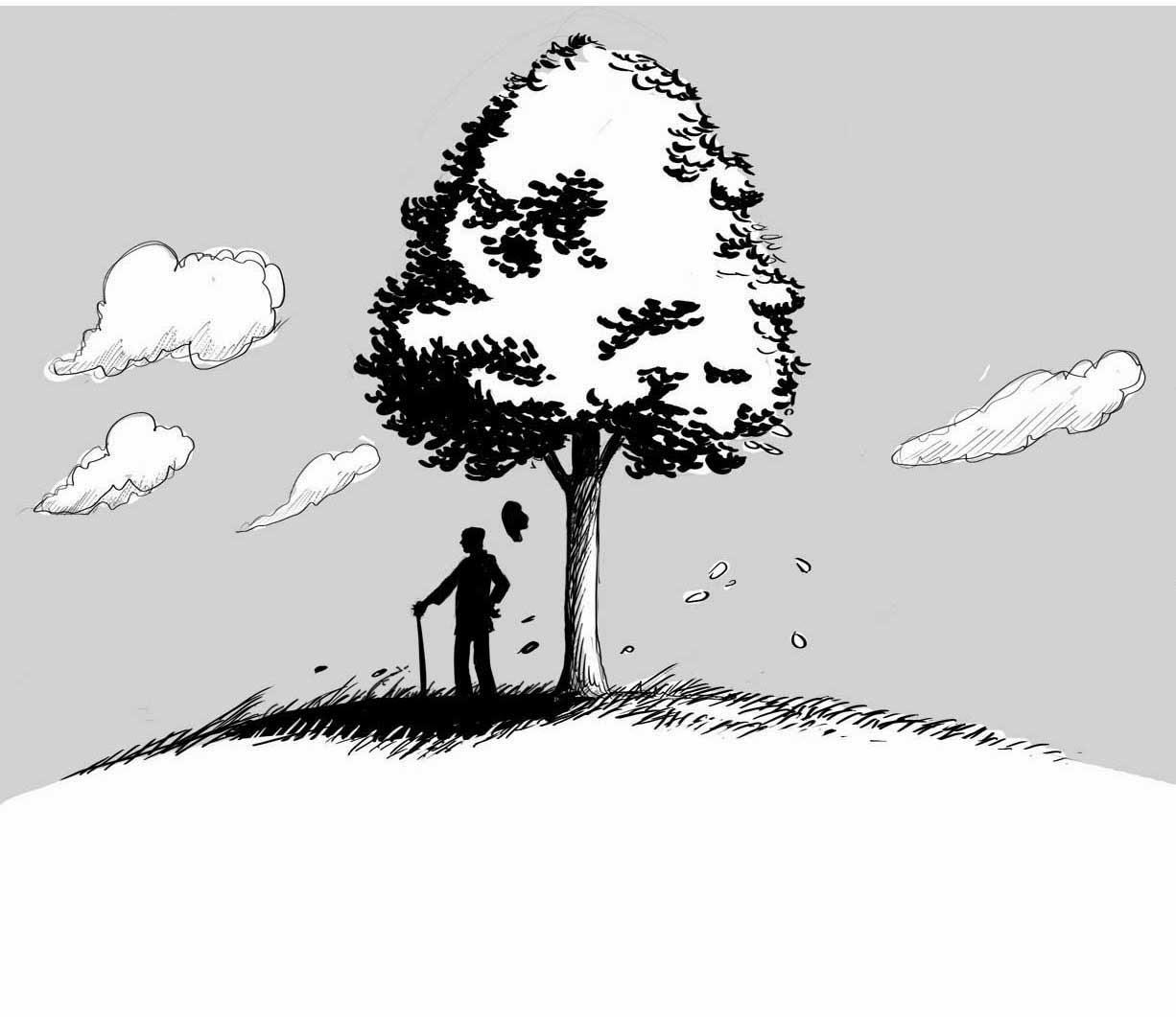 Ascuoladifumetto news albero e vento una revisione for Immagine di un disegno di architetto