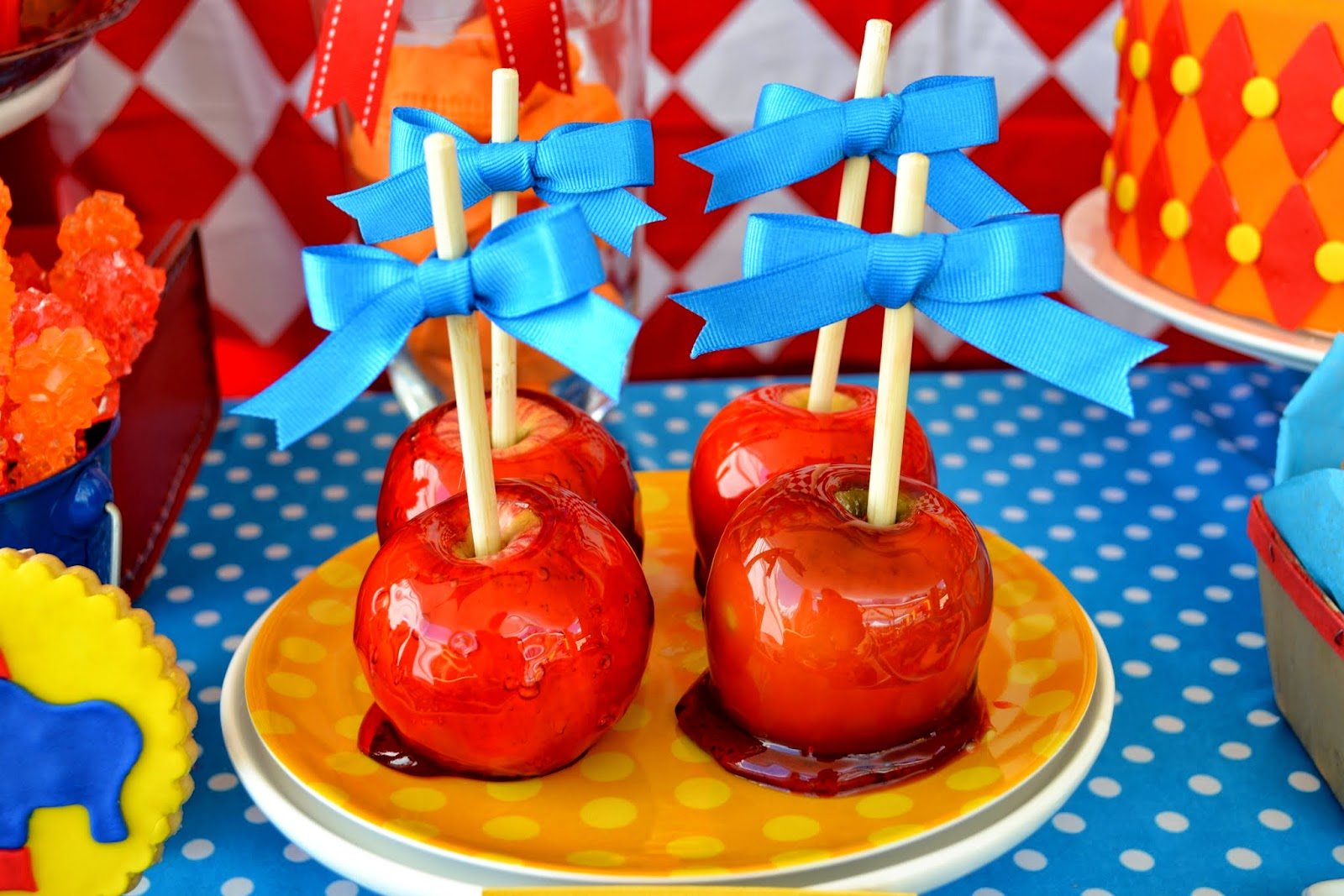 Partylicious events pr carnival birthday - Carnival foods ideas ...
