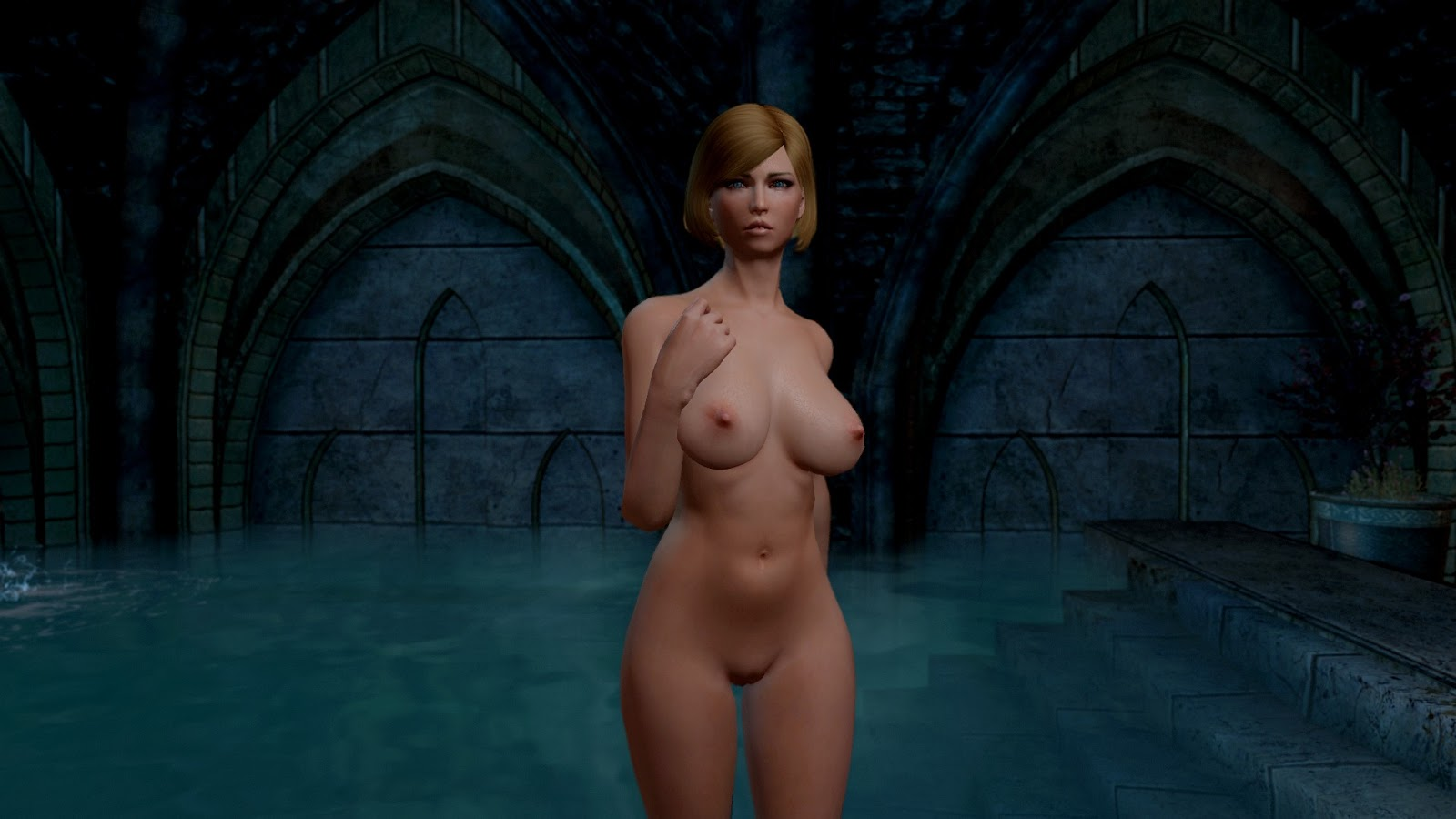 Skyrim nude models nudes photos