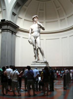 el David de Miguel Angel en Florencia - que visitar