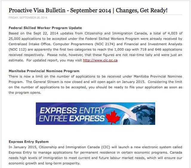 September 2014 Visa Bulletin