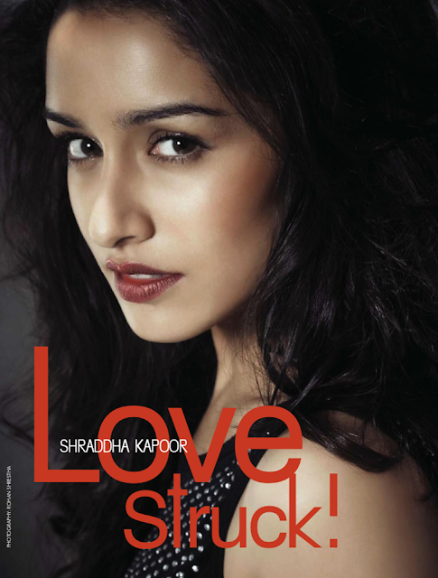 Aashiqui 2 actress Shraddha Kapoor for Cineblitz stunning photo shoot