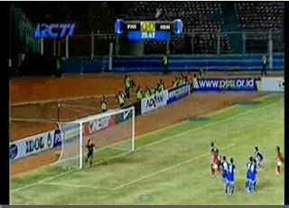 Video cuplikan gol Indonesia vs Filipina AFC U-19