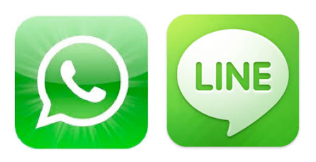 WhatsApp / Line