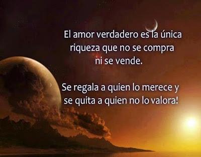 El Amor Verdadero Reflexion