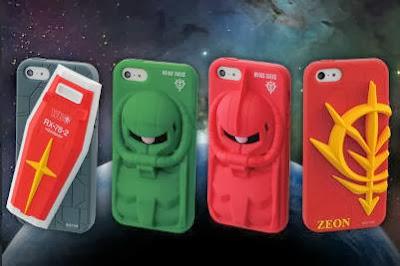 Bandai membuka Pre Order 3D garskin gundam untuk iPhone 5