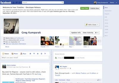 Disattivare timeline facebook