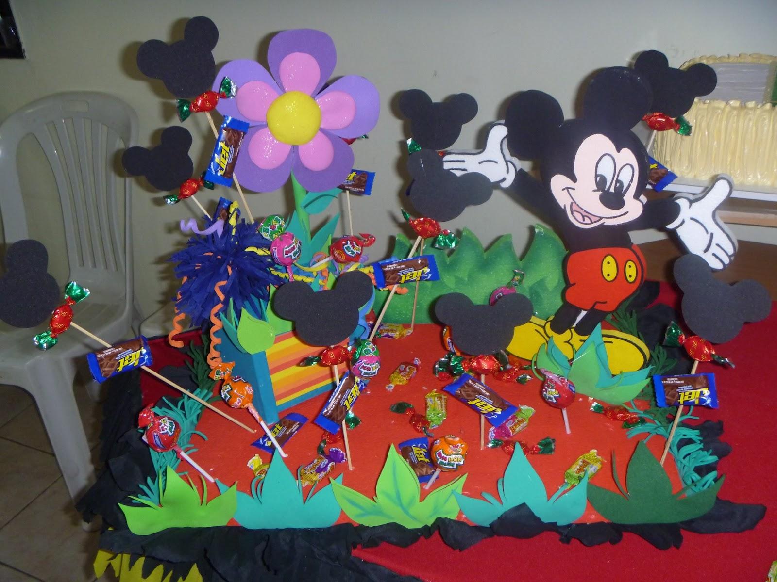 Decoracion Cumplea?os Mickey ~ Publicado por Cristina en 19 12 7 comentarios