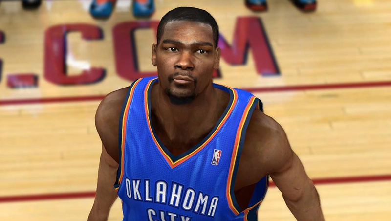 NBA 2K14 Kevin Durant Face Mod