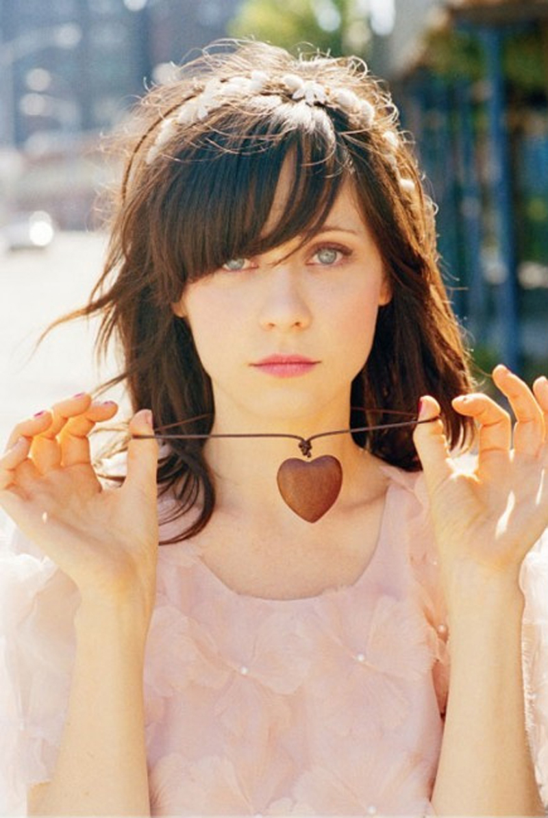 Fresh Look Celebrity Zooey Deschanel Hairstyles 63