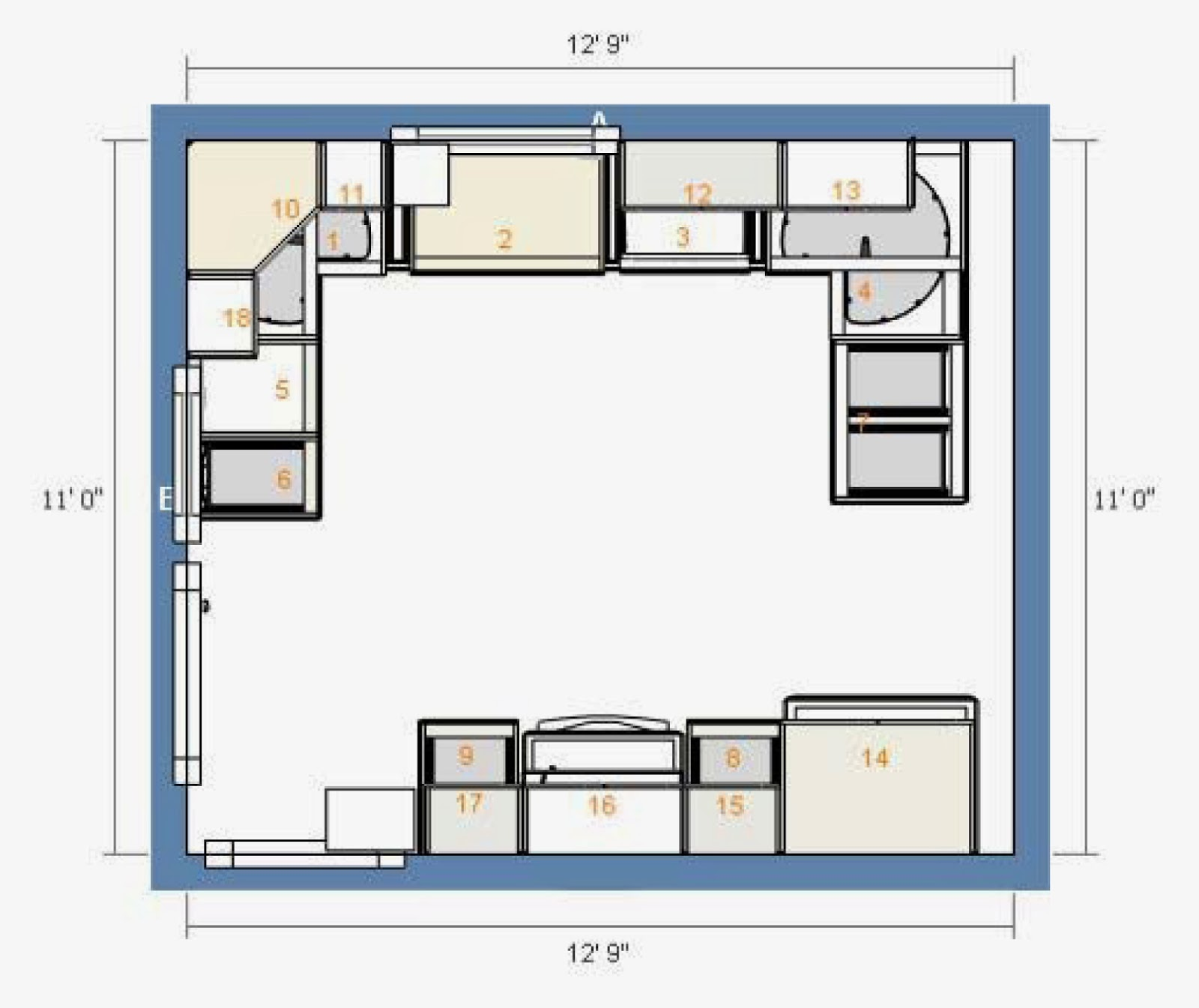 Kitchen Floor Plans Peninsula Our Ikea Kitchen  Design Phase  Danks And Honey