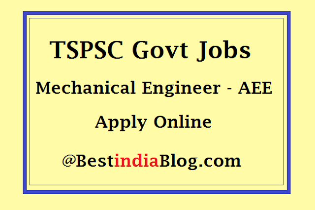 tspsc aee jobs apply online, tspsc aee hallticket download
