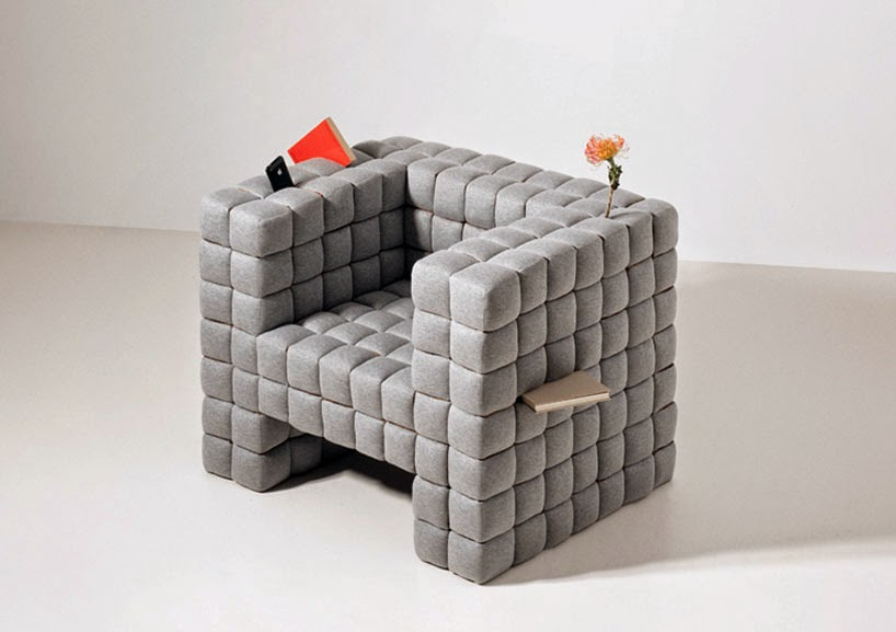 {Design} Lost in sofa by Daisuke Motogi Architecture - Rue du chat qui peche
