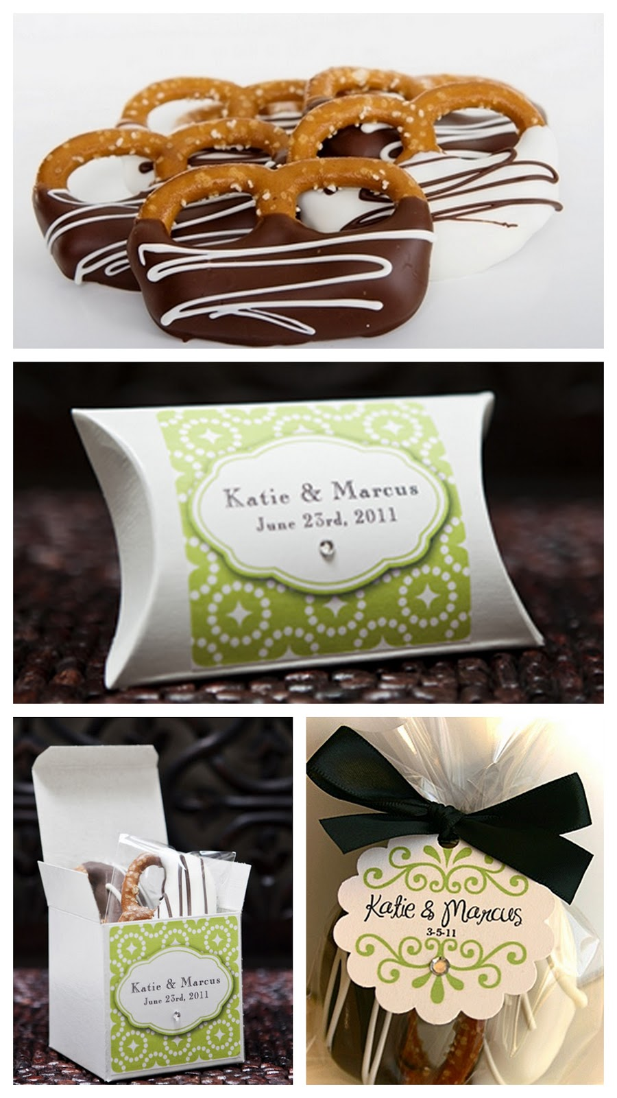 california caramel company wedding party favors