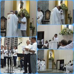 Participação da PPI na missa de niver sarcedotal do Pe. José Augusto!