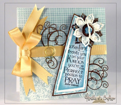 "Our Daily Bread designs ""Pray"" Designer Theresa Calderini"