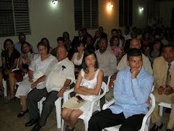 Público Asistente en la Entrega de Reconocimiento a Francis Jerez