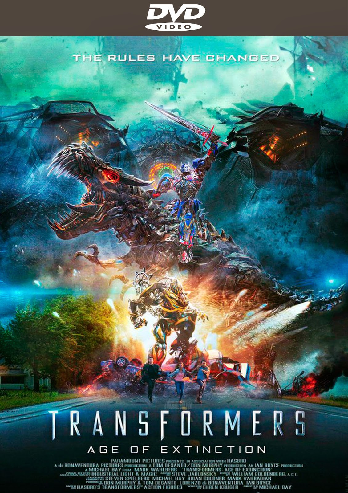 Transformers: Age of Extinction [2014] [Latino/Ingles]