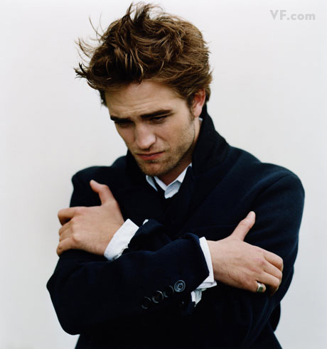 Robert Pattinson in Vanity Fair photoshoot