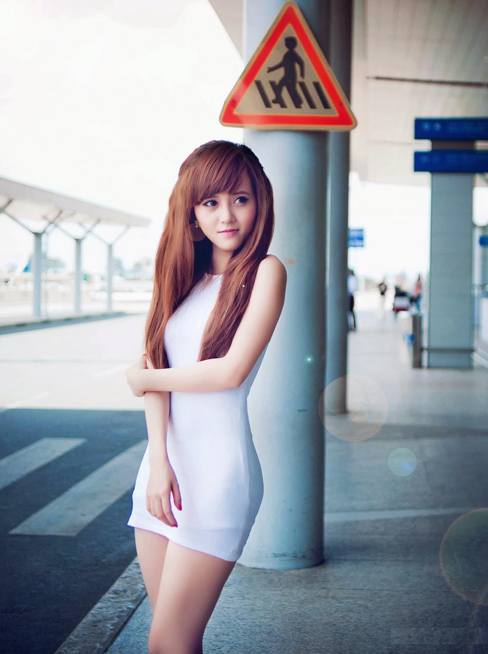 Tổng hợp gái xinh bưởi đẹp, chân dài, da trắng
