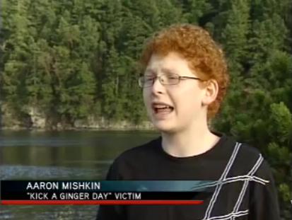 Gegen rothaarige beleidigungen Schwul unter