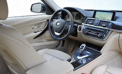 2014 BMW 3 Series Wagon Interior