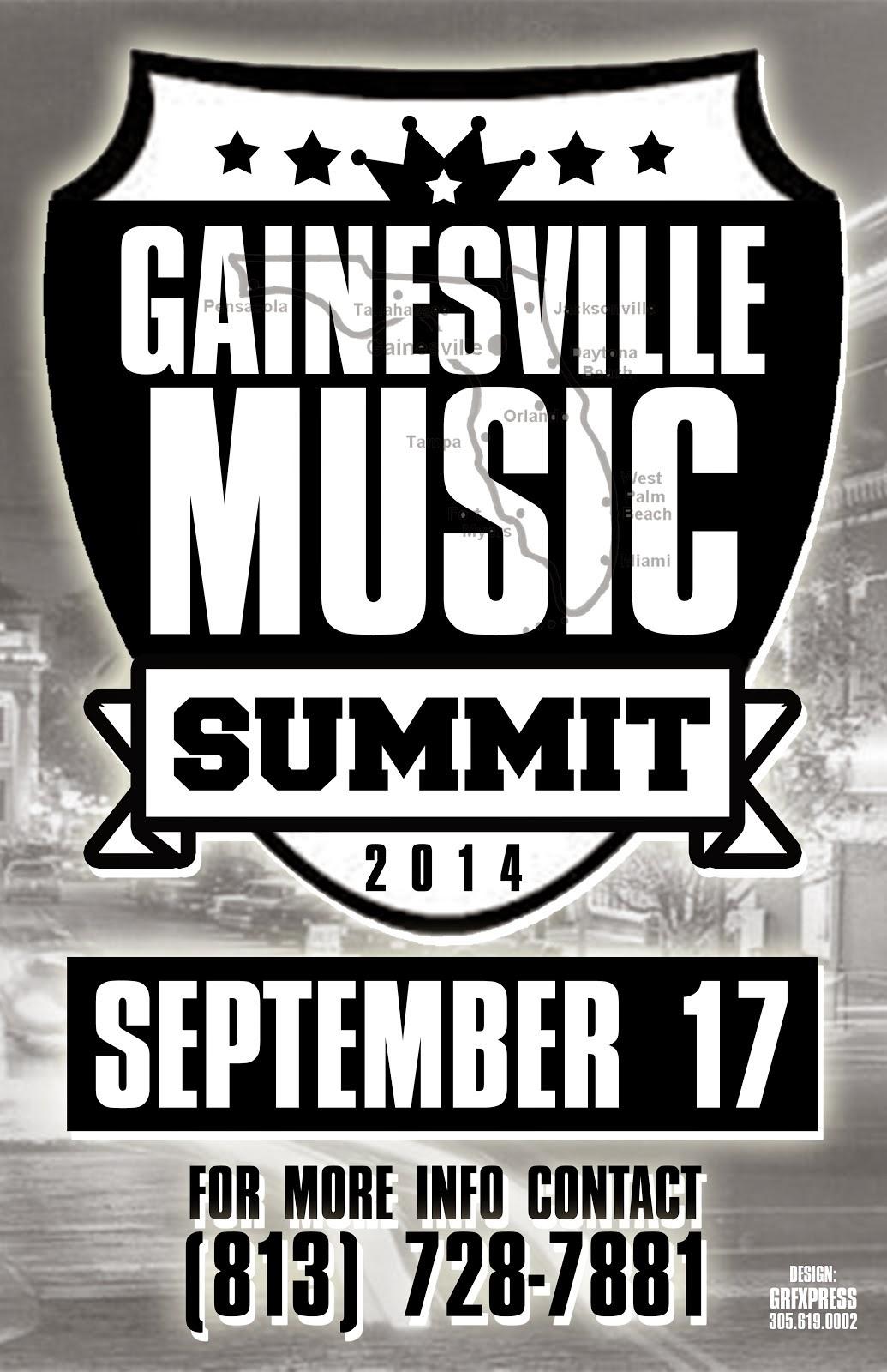 GAINESVILLE MUSIC SUMMIT