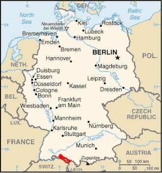 Konstanz Germany Map - Germany map konstanz