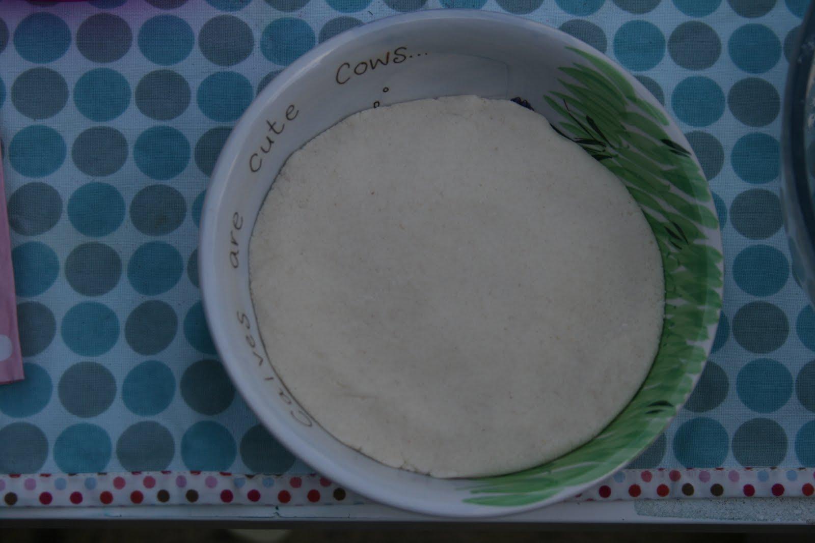 Bowl Made from Dough Varnished for Preservation Vintage