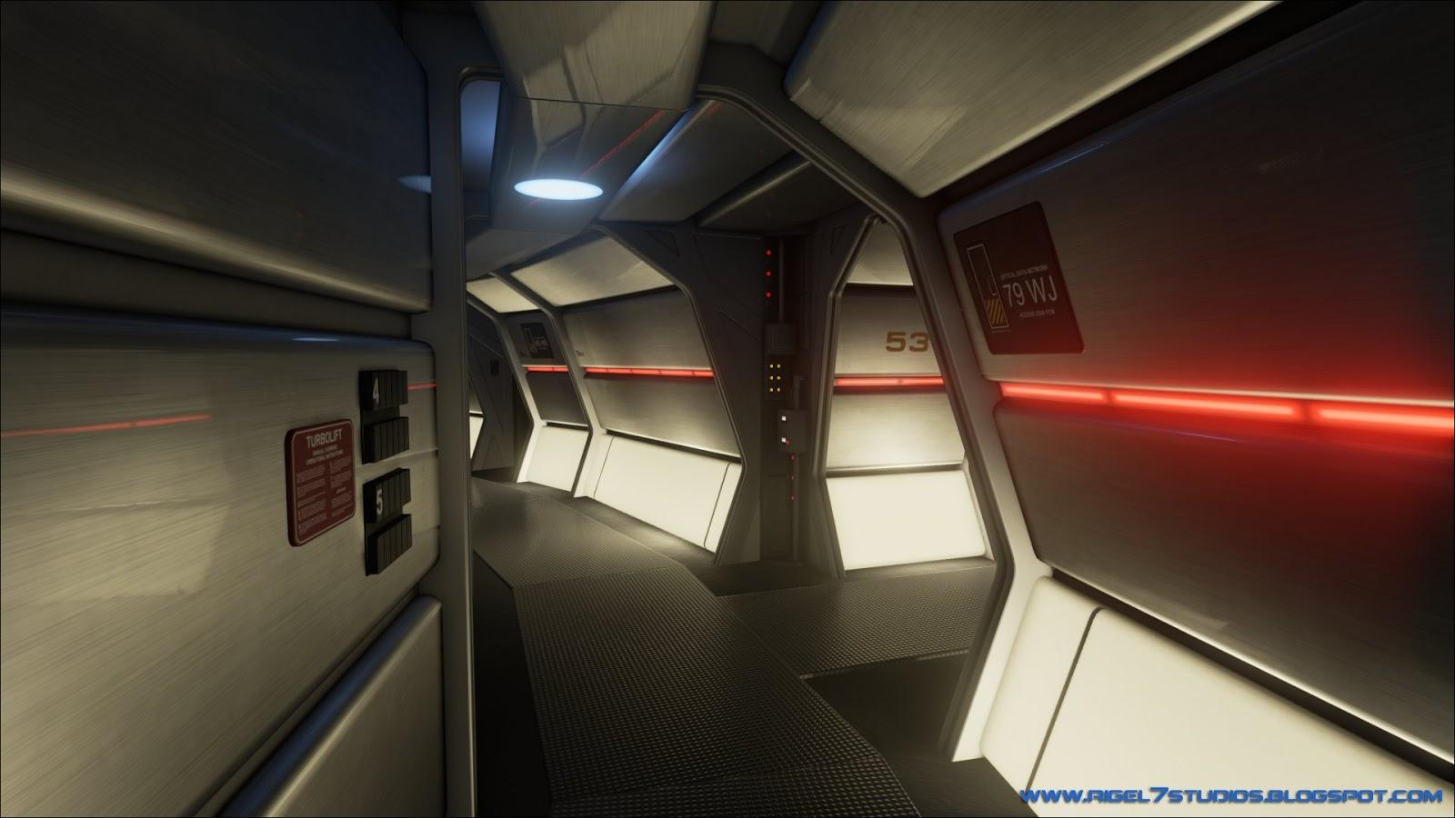 Rigel VII Refit Enterprise Corridors Redux