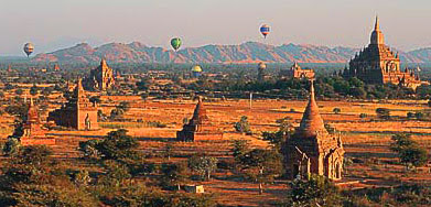 Dry Zone of the center at Bagan