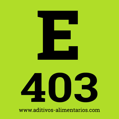 E403 - Alginato de Amonio
