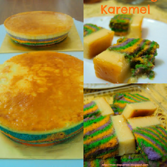 Untuk Tempahan : Kek Puding Karemel, saiz 9, RM40