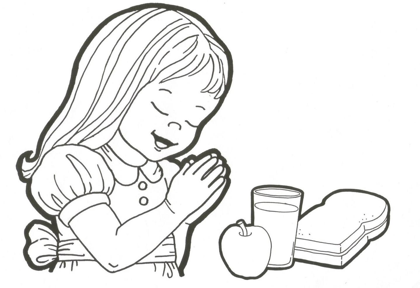 Blog de California: Para colorear - Niños orando