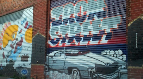 Iron Street Mural Detroit