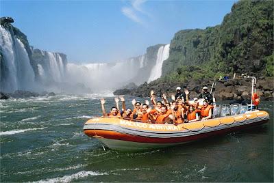 Passeio de barco Cataratas do Iguaçú