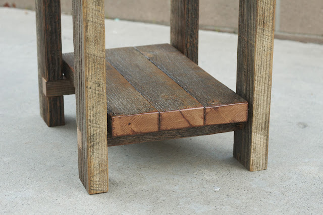 Weathered Reclaimed Wood Table
